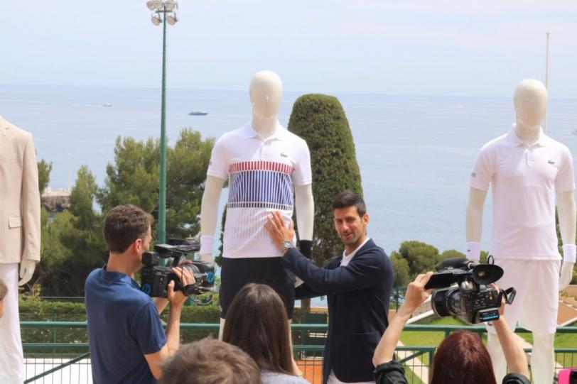 New outfitter for Novak Djokovic
