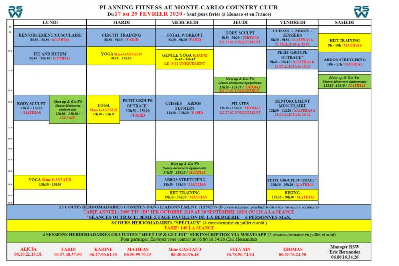 Classes are still scheduled at the M.C.C.C. during winter holidays