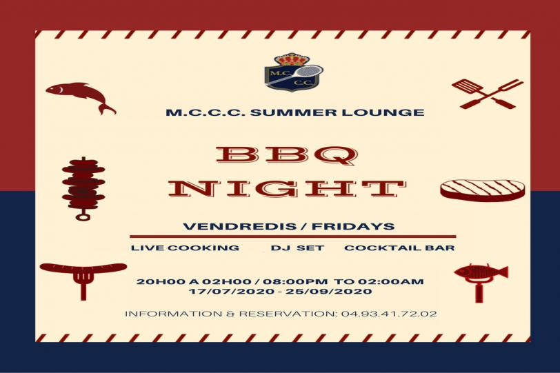 M.C.C.C. Summer Lounge - BBQ Night First Spanish Night