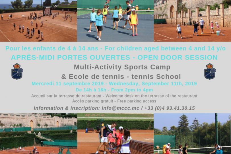 Open door session - Multi-Activity Sports Camp & tennis School